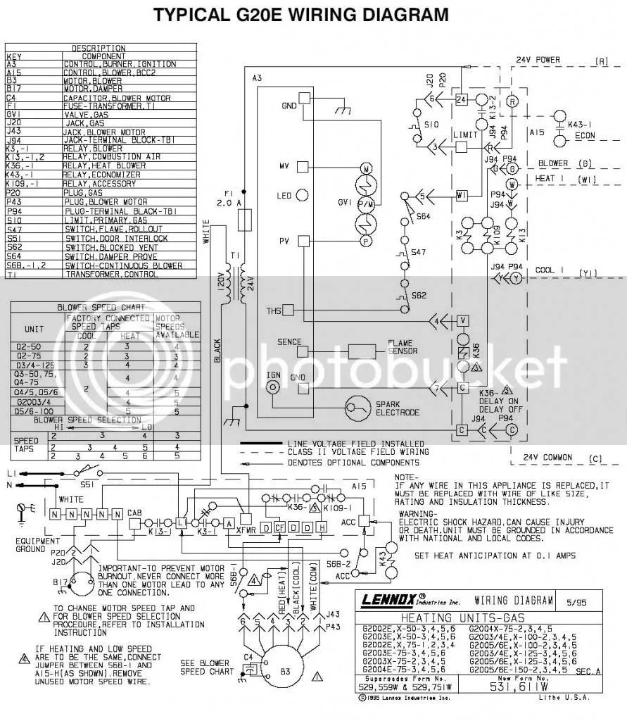 Lennox G20q3 4e 100 1 Manual