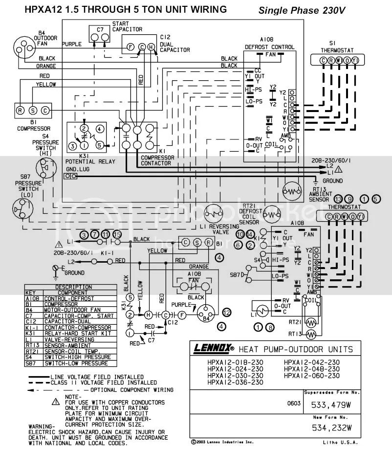 lennox wiring diagram thermostat diagrams enable technicians to ac unit library schematic todayslennox hvac simple schema heat pump