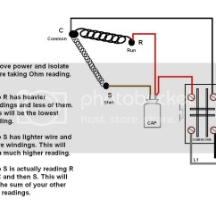 Ac Fan Motor Wiring Diagram Carrier Capacitor A C Compressor All Data Melted Wires Doityourself Com Community Forums Single Phase