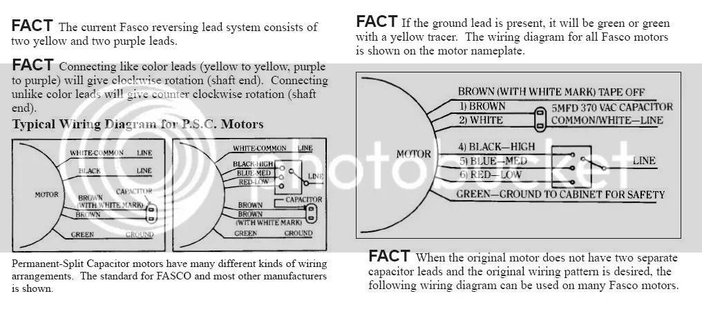 Furnace Blower Motor Wiring Diagram &