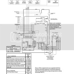 Miller Electric Furnace Wiring Diagram Digital Voltmeter Nordyne G6ra 80 Red Light Flashes Once No Heat Blower Continuous