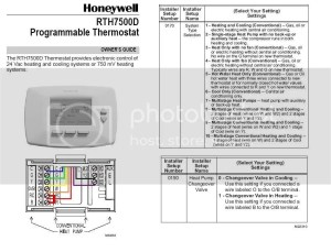 Installing Honeywell RTH7500D Thermostat  DoItYourself