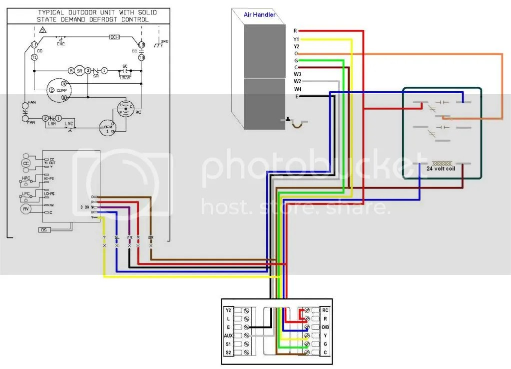 Rheem Wiring Schematics Hook Up Visionpro Stat Doityourself Com Community Forums