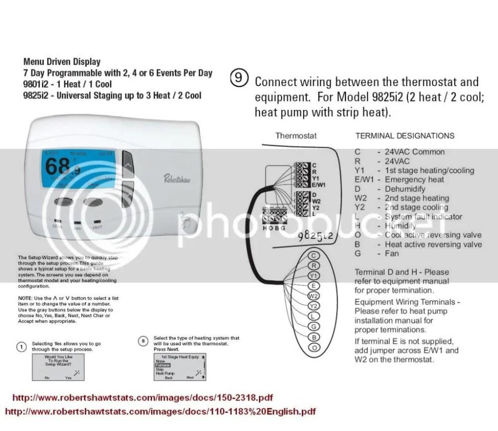 medium resolution of robertshaw gas fireplace thermostat wiring diagram