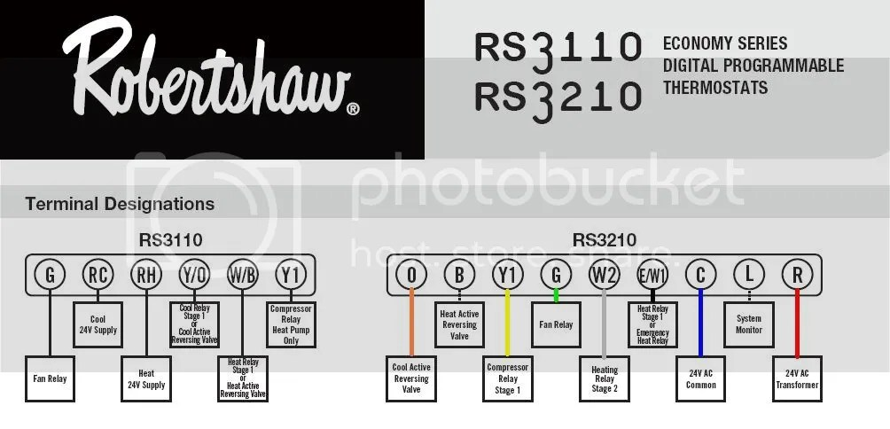 RobertshawRS3210 robertshaw 9520 thermostat wiring diagram robertshaw 9520 thermostat wiring diagram at soozxer.org