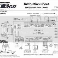 Taco Wiring Diagram 2 Way Lighting Circuit Connecting Zvc406 With Honeywell Rth6589wf Tstst