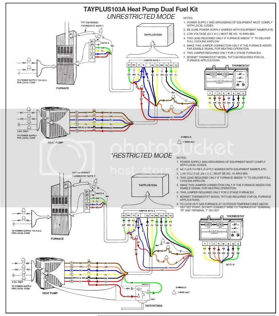 honeywell wifi thermostat kit 2003 subaru forester stereo wiring diagram trane xv95 + xl15i heat pump tcont802 dual fuel - doityourself.com community forums