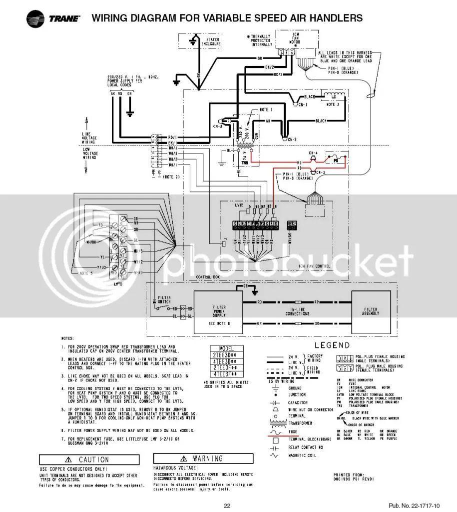 compressor wiring diagrams trane xr13