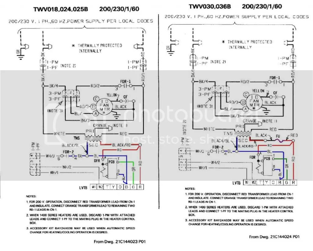 medium resolution of looks like trane didn t install a fuse to protect the transformer with units under 2 1 2 tons