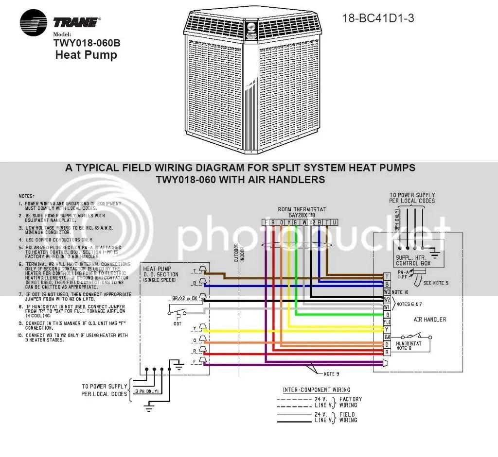 trane wiring diagram heat pump xlr balanced fan motor for xe1200 no running but have a