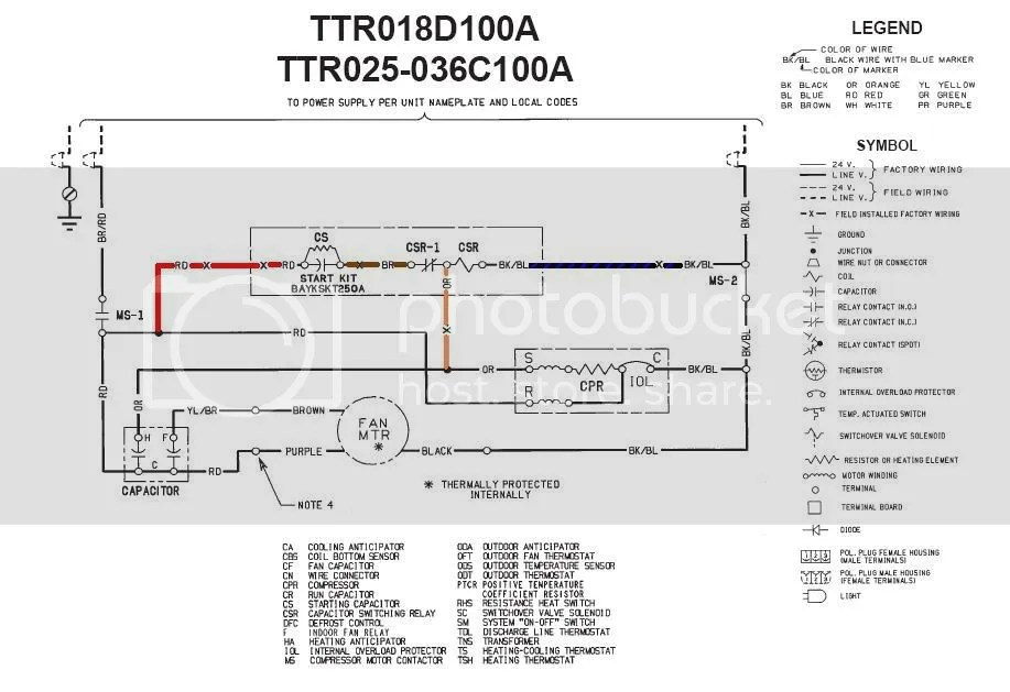 Trane XE1000 Compressor Not Coming On Line HVAC DIY Chatroom