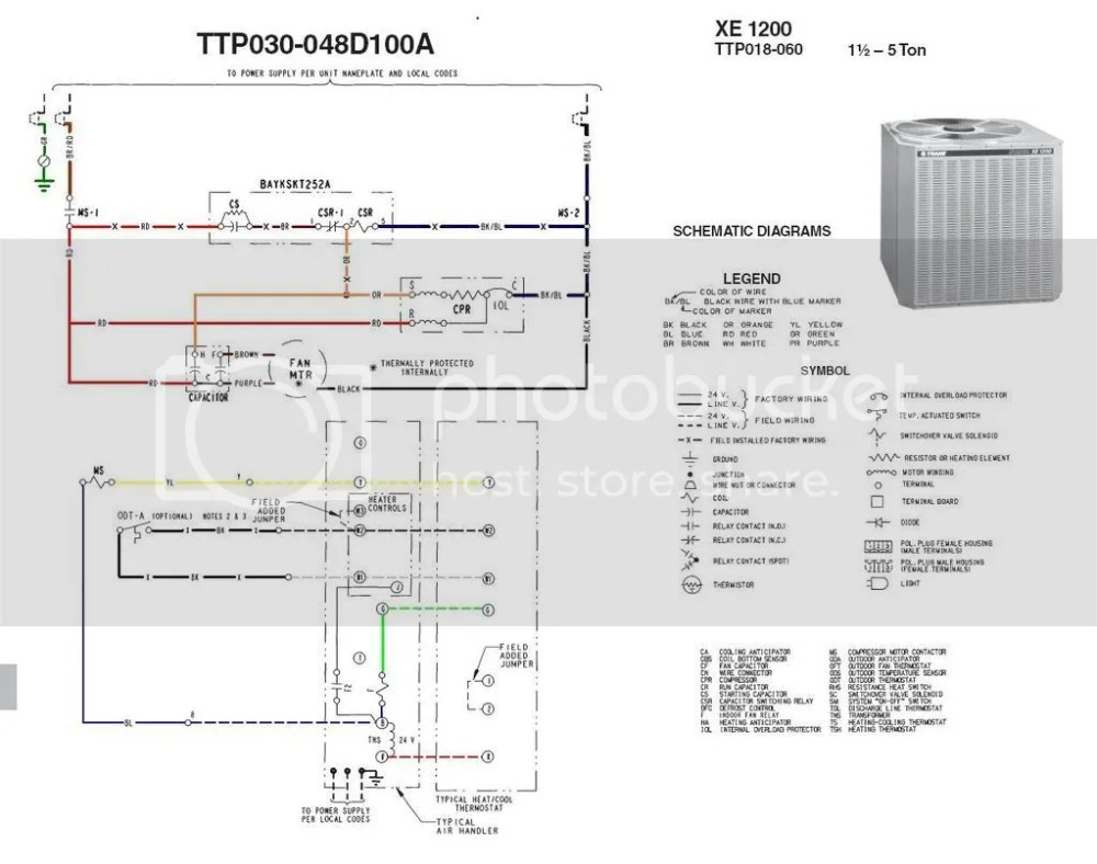 medium resolution of trane condenser fan motor wiring diagram wiring diagram perfomance trane condenser wiring diagram