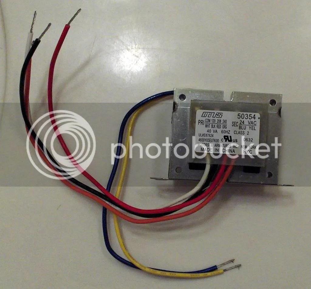 hvac transformer wiring data wiring diagram HVAC 24 Volt Transformer Wiring