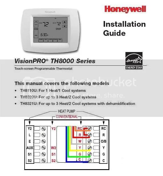 honeywell wifi 9000 thermostat wiring diagram hiniker v plow wi fi vision pro 8000 wire color code ...