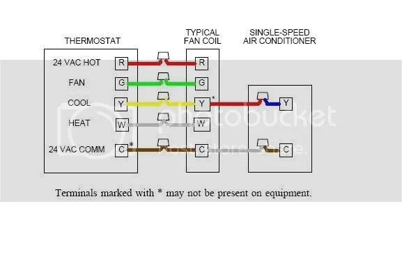 Home Thermostat Wiring Voltage