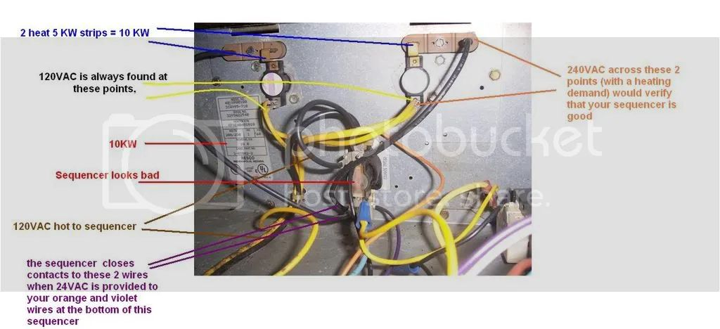 strip heat wiring diagram