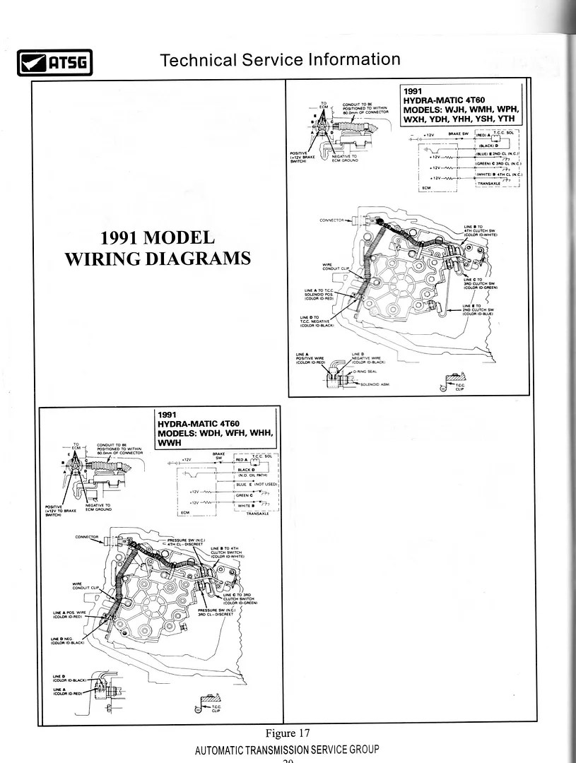 hight resolution of 1991 allante 4t60 looking for tcc wiring diagram pennock s fiero forum