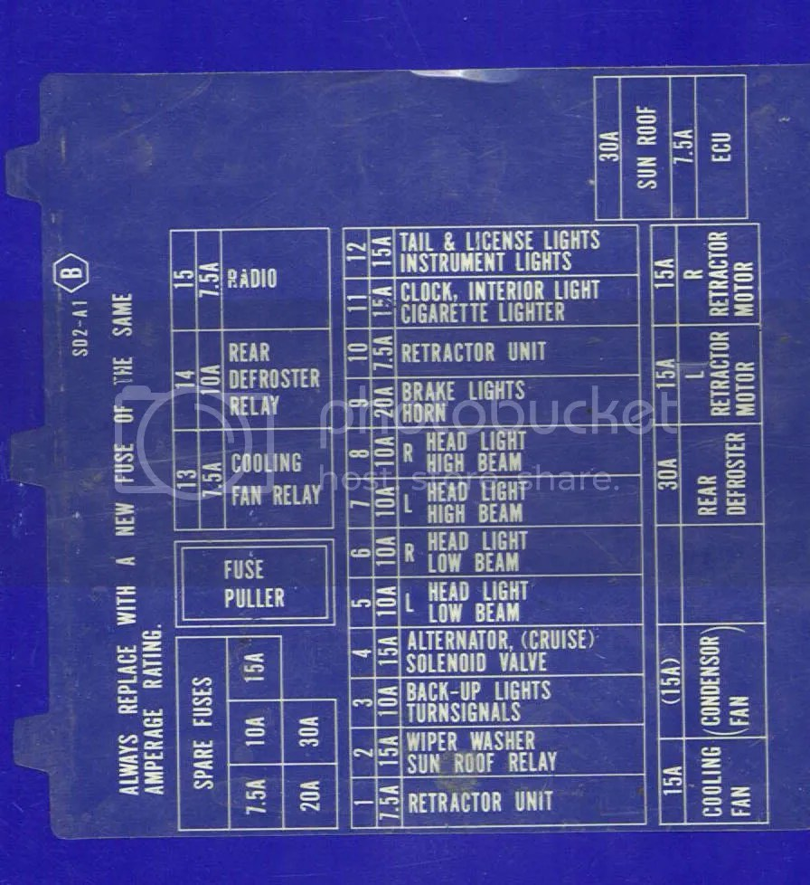 hight resolution of 1989 acura integra rs need fuse diagram clubintegra com acura 89 acura integra fuse box