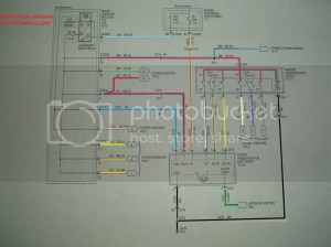2005 power windows switch wiring diagram | S197 Mustang