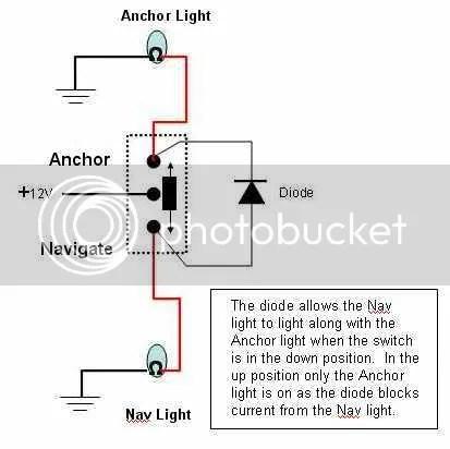 Wiring Diagram Boat Navigation Lights