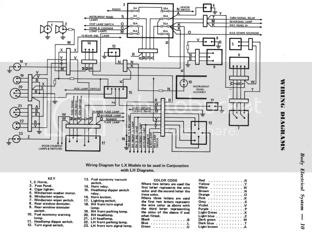 Lx Torana Wiring Diagram. Troubleshooting Diagrams, Honda