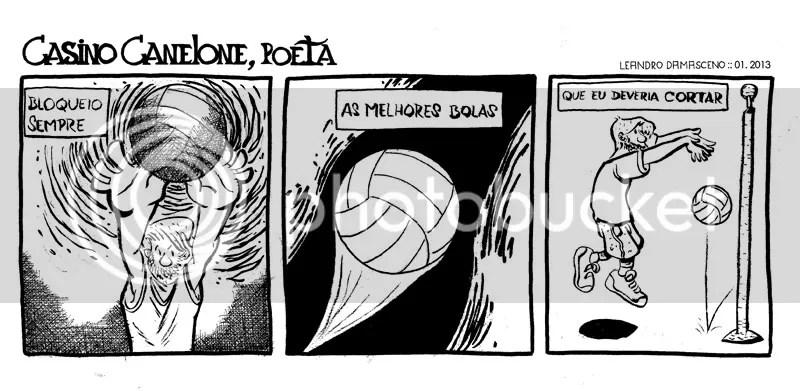 Poesia e esportes não andam muito de mãos dadas.