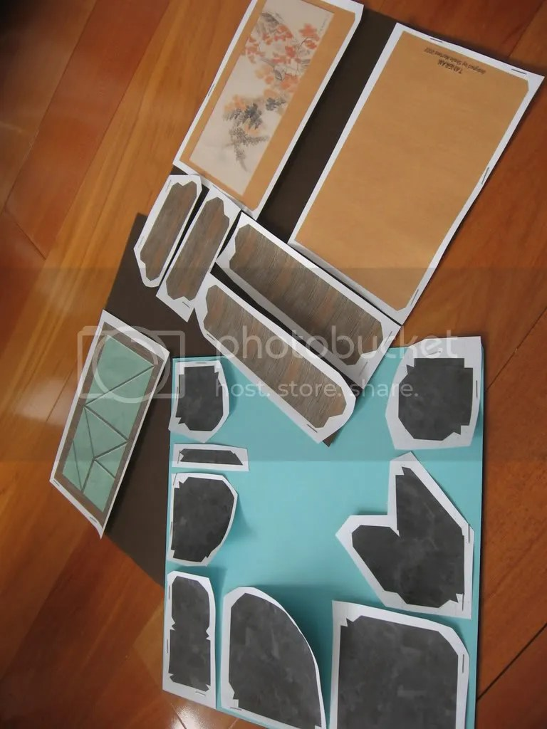 templates for die cuts and paper models a whole load of craft
