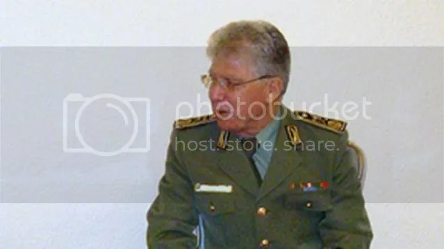 Maj. Gen. Ahmed Senhadji, secretary general of the Ministry of Defense
