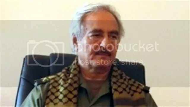 Army Commander Khalifa Hiftar