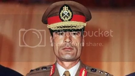 """Gaddafi swapped into a series of Land Cruiser cars. 'They're going to Sabha."""""""