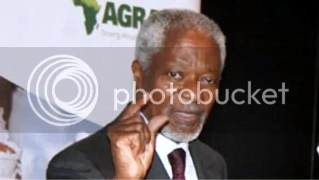 Kofi Annan, Dar es Salaam April 3