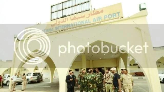 Sabha, Libya International Airport