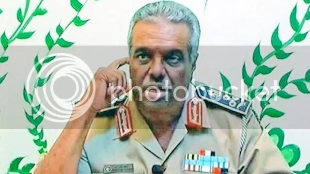 air force commander Saqer al-Joroushi [Saqr Geroushi]