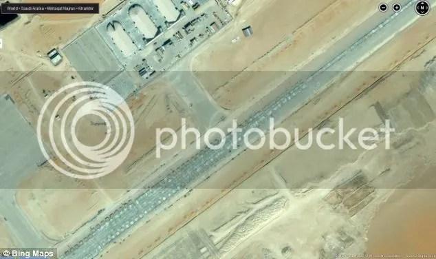 Looks like a new drone base in Saudi Arabia's south