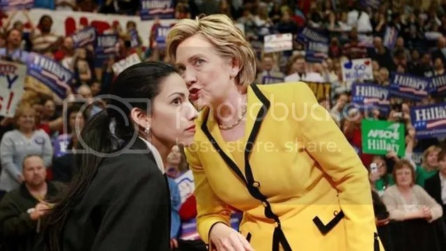Abedin is currently vice chair of Clinton's presidential campaign