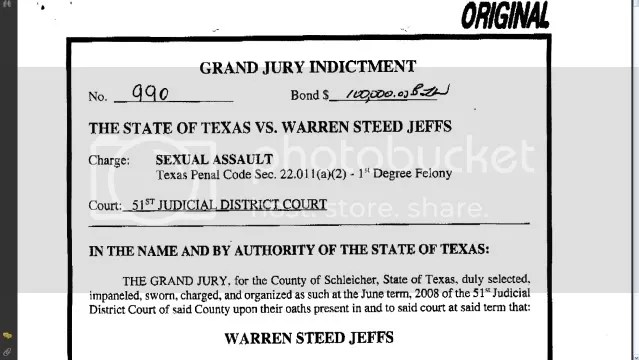 Jeff Warren Indictment