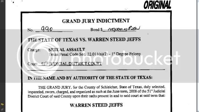 Jeff Warren Indictment