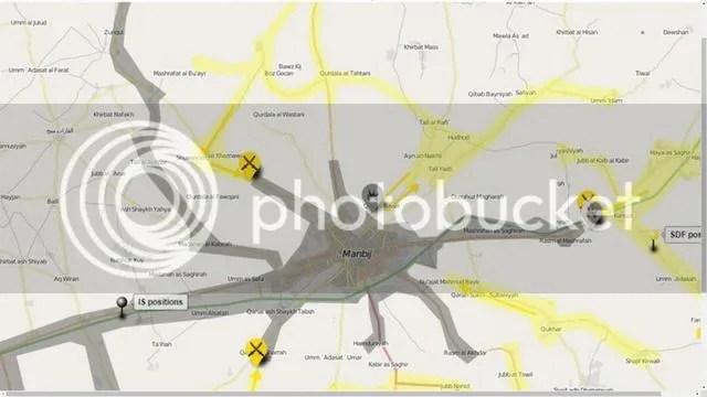 manbij map