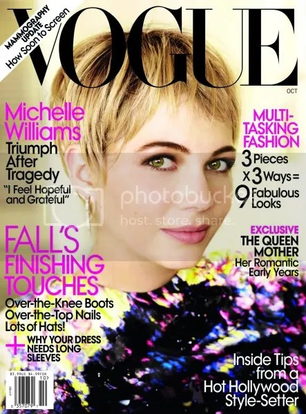 October 09 Vogue cover