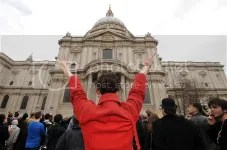 Few protests , little violence at Thatcher funeral