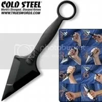 Cold Steel kunai