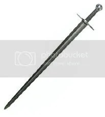Sir William Marshall Damascus Steel Sword