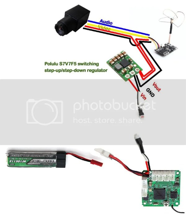 Wiring For Fpv Camera - Year of Clean Water