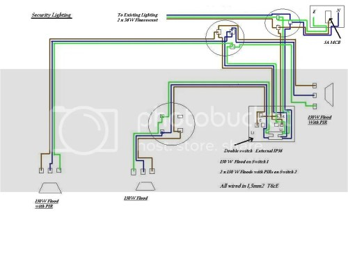 small resolution of security light wiring uk free wiring diagram for you u2022 light switch home wiring diagram wiring a security light uk