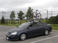 VWVortex.com - Mk5/MKV Jetta VW OEM Roof racks with Bike ...