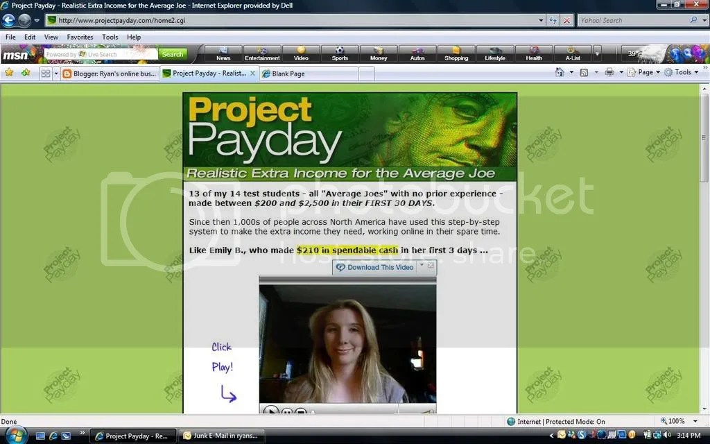 project payday opportunity