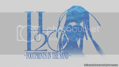 H2O -FOOTPRINTS IN THE SAND-