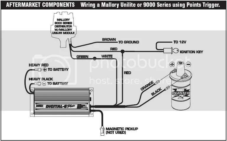 Wiring Diagram For Msd Digital 6 Plus