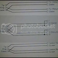 Trs Insert Cable Wiring Diagram Electric Baseboard Heater Thermostat Cables Build Your Own For A Bit More Information On Connecting The To Connector Here Is Schematic Hooking Up Courtesy Of Soundcraft