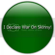 Skinny Button Green Circle